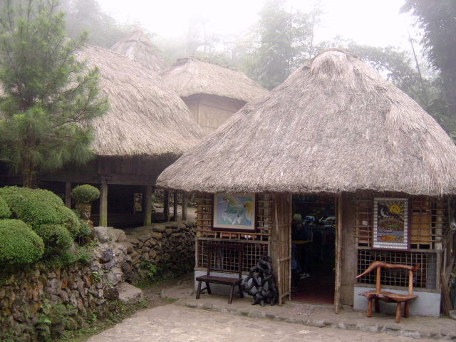 Tam-Awan Village Native Huts