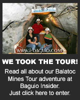 Read all about our Balatoc Mines adventure