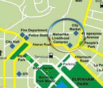 Baguio City Market FAQs Go Baguio - Baguio map