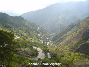 Kennon Road, Baguio CIty, Philippines