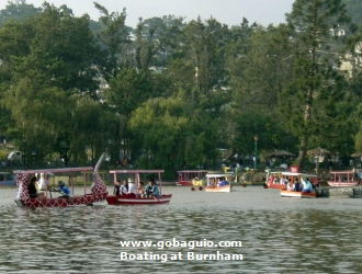 Boating at Burnham Park, Philippines